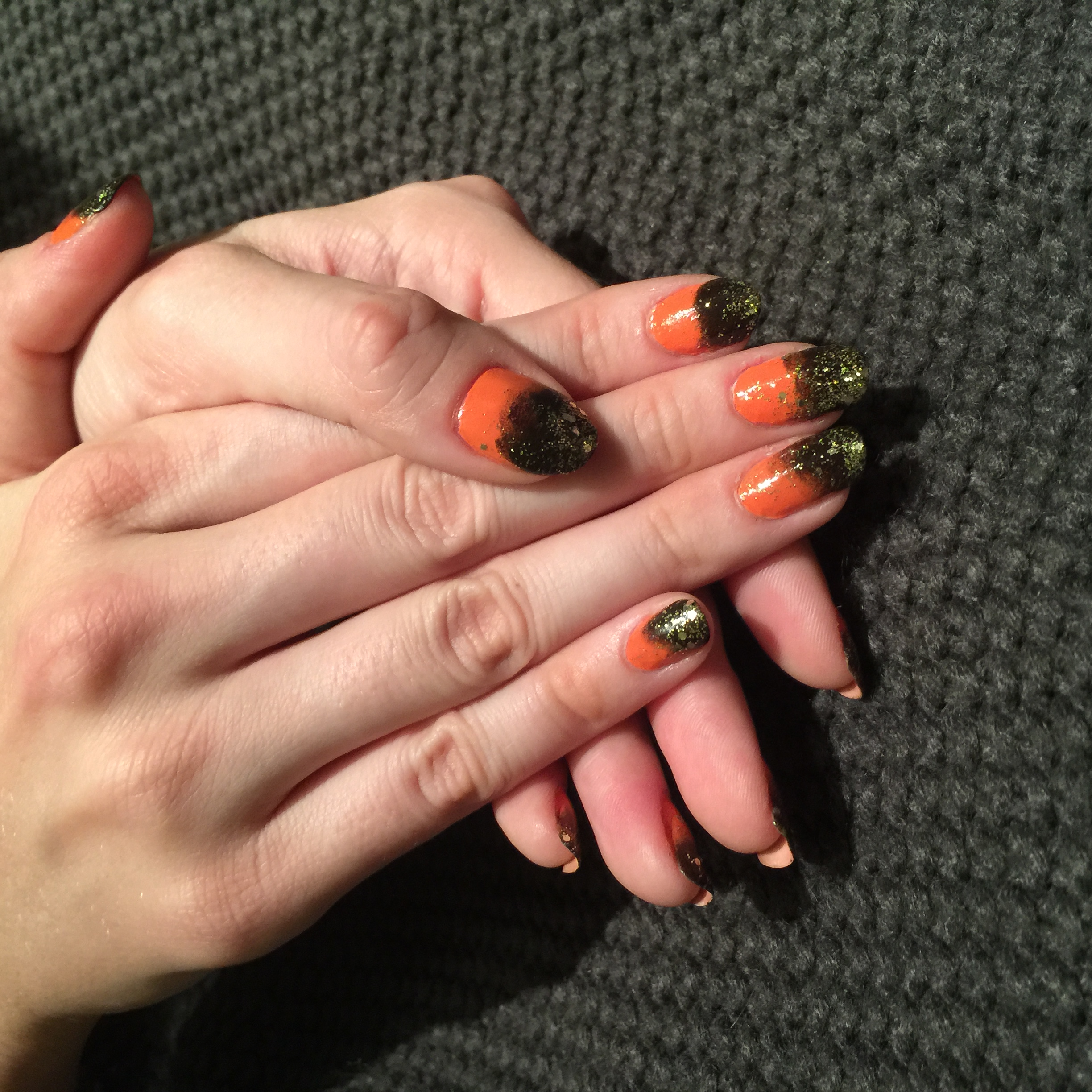 Halloween Month 2015 - Halloween Glam - Nails For Nickels
