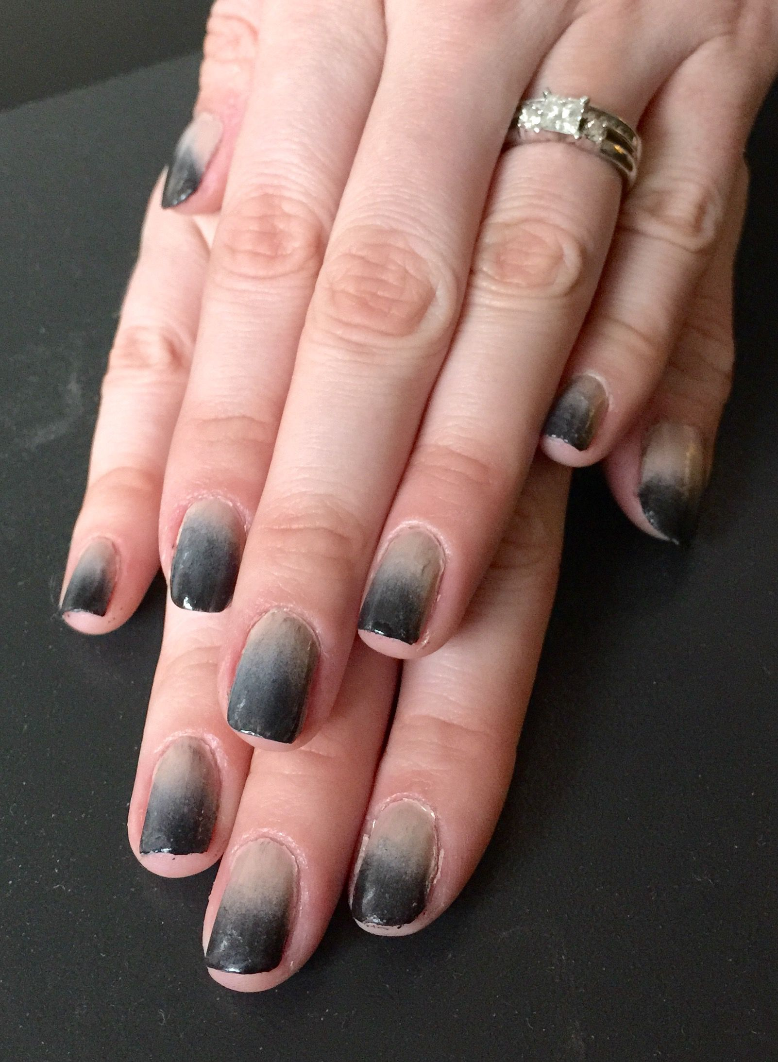 Nails This Week - Smokey Ombre - Nails For Nickels