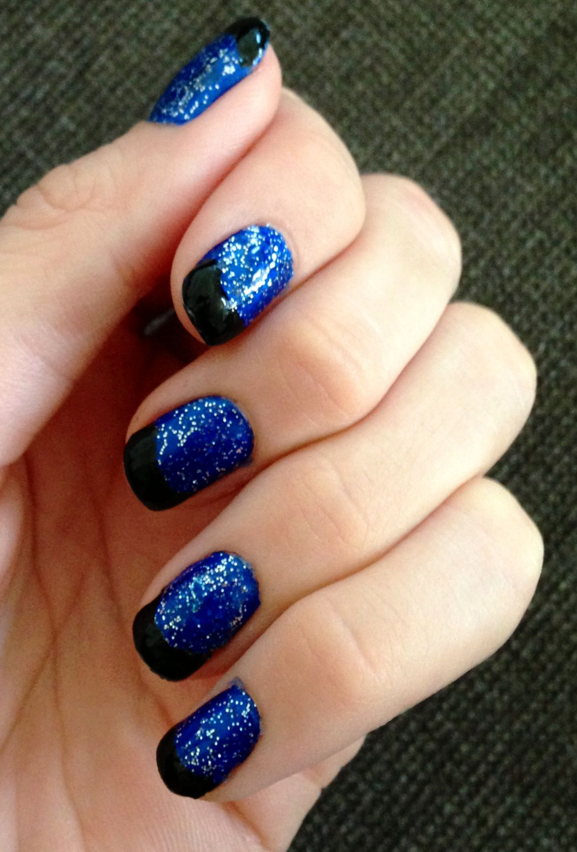 Nails This Week - Starry French Tips - Nails For Nickels