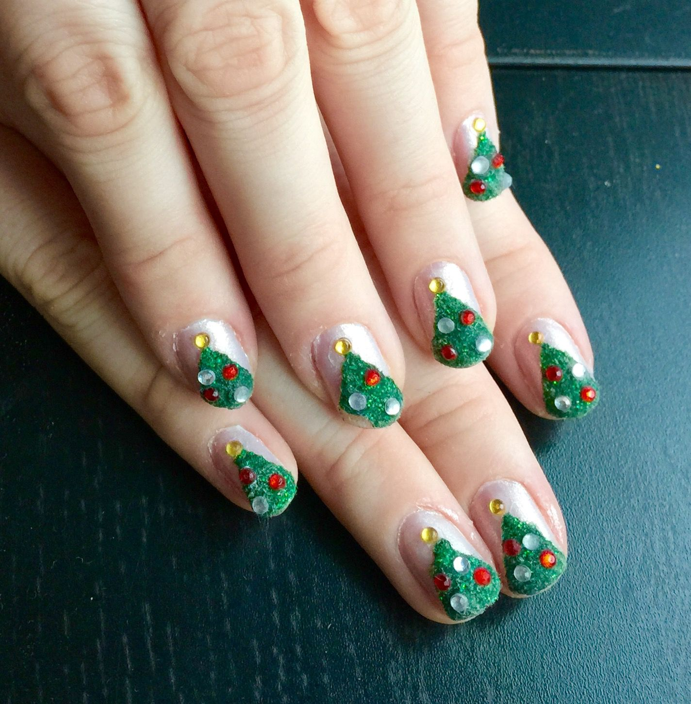 Christmas Nail Art Tutorial Gingerbread Galore: Christmas Month 2014