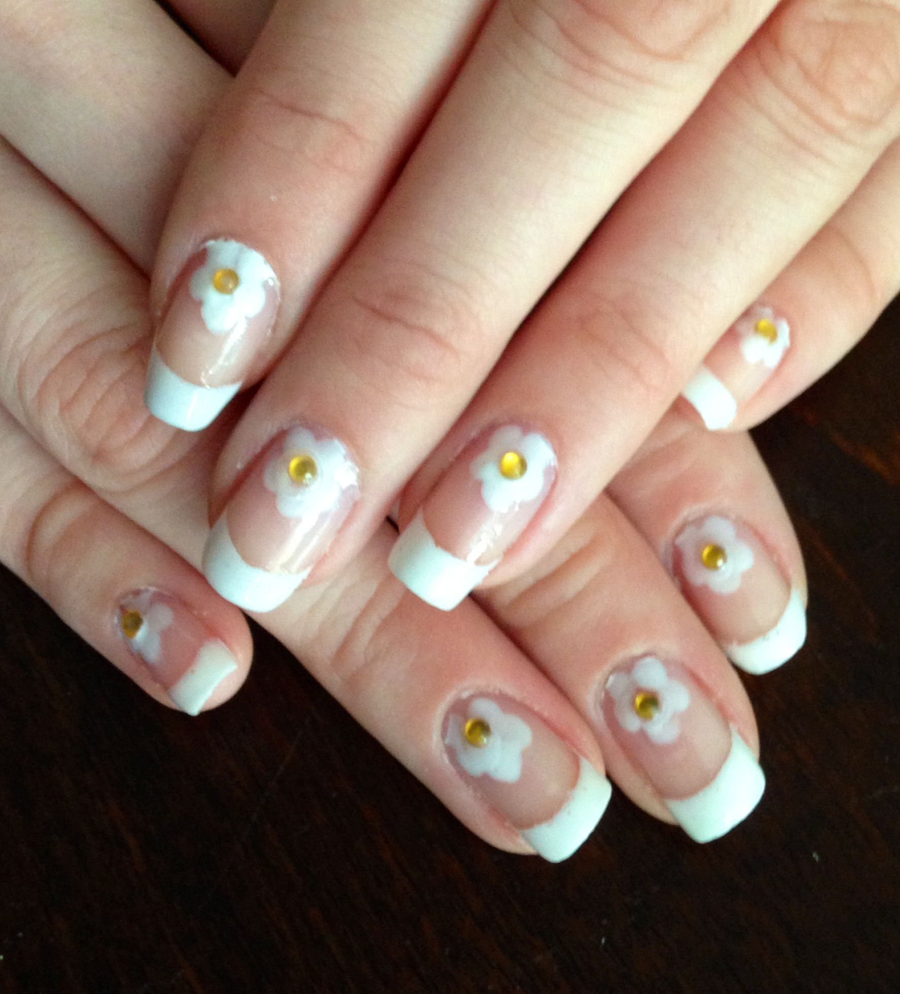 Tutorial flower accent nails for nickels flower accents izmirmasajfo