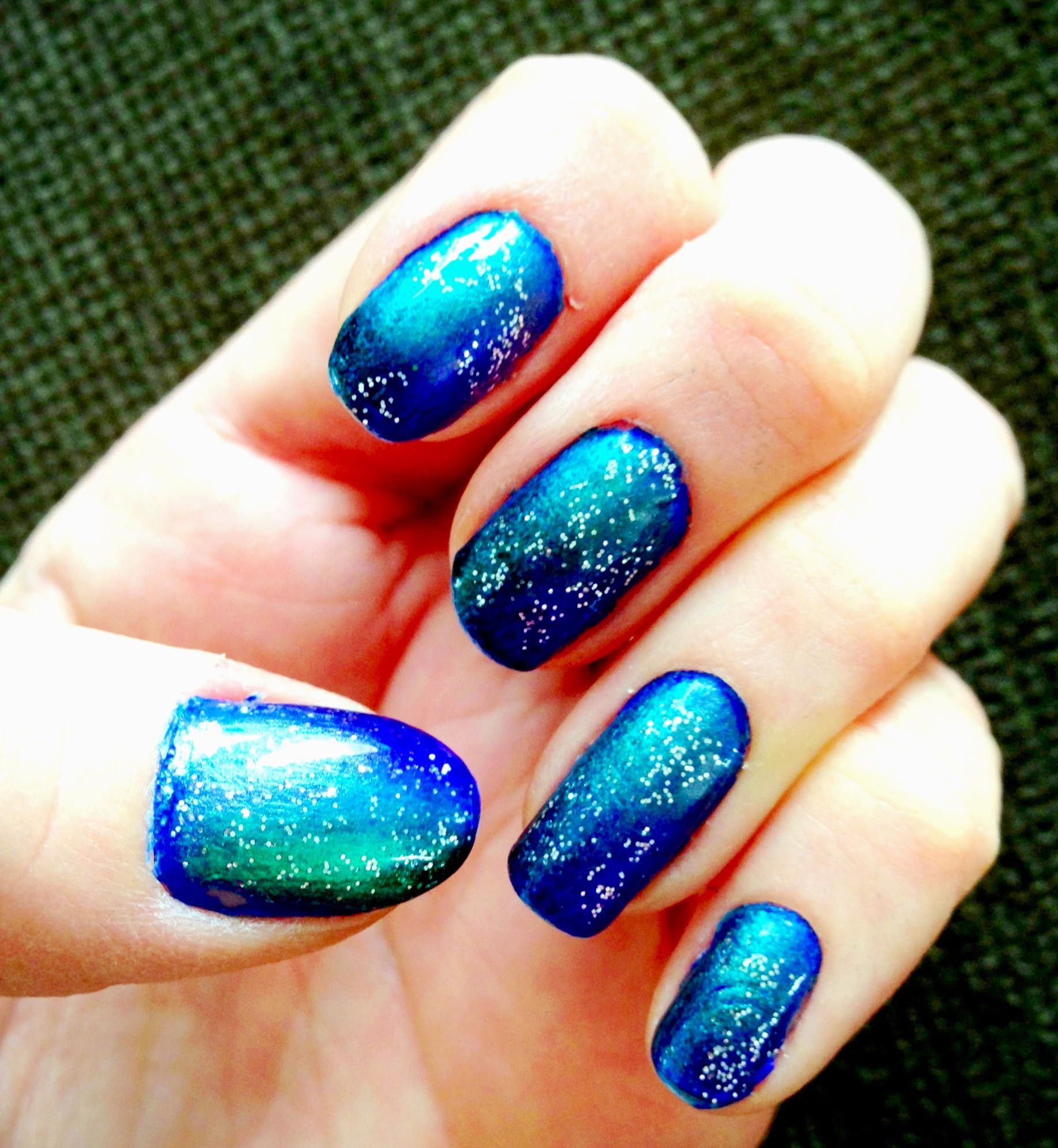 Tutorial - Starry Starry Night (A.K.A. Galaxy Nails) - Nails For Nickels